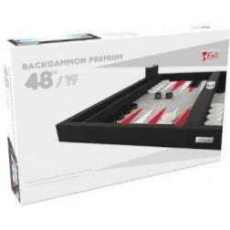Backgammon Premium 48 ext rouge