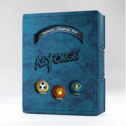 Boite de rangement Book Bleu Keyforge