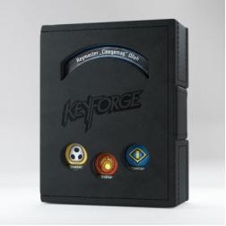 Boite de rangement Book Noir Keyforge
