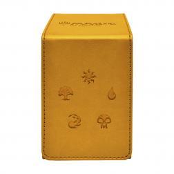 Boite de Rangement MTG Alcove Jaune (Gold brillant)