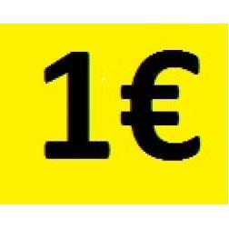 Carte cadeau -  Valeur 1€
