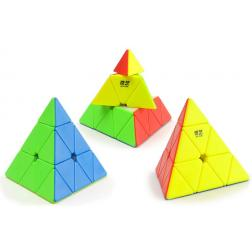 Cube : Pyraminx stickerless QiYi QiMing