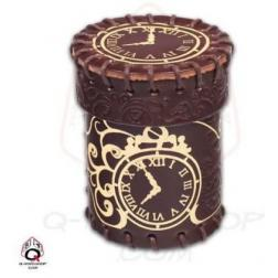 Dice Cups - Steampunk Brown / Golden
