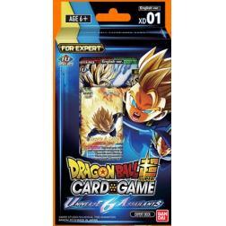 Dragon Ball Super Card Game : Expert Deck 1 Universe 6 assailants