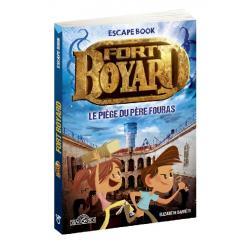 Escape Book Enfant Fort Boyard : Le piège de père Fouras
