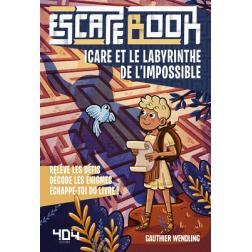 Escape Book Enfant : Icare et le Labyrinthe de l'impossible