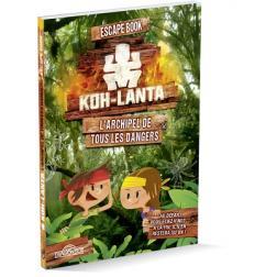 Escape Book Enfant : Koh-lanta à la recherche de l'anneau d'or