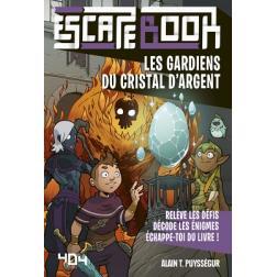 Escape Book Enfant : Les gardiens du cristal d'argent