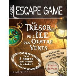 Escape de game de poche - Le Trésor de l'île des Quatre Vents