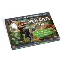 Escape Game Spécial Famille Dinosaures en vue !