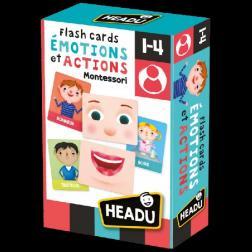 Flashcards Emotions et Actions Montessori