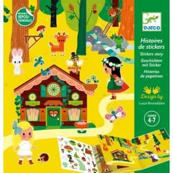 Histoires de Stickers : La forêt magique