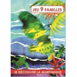 Jeu de 9 Familles : je découvre la Martinique Volume 1