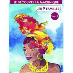 Jeu de 9 Familles : je découvre la Martinique Volume 2