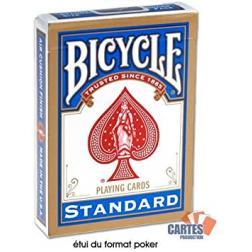 Jeux de cartes standard Bicycle : Bleu