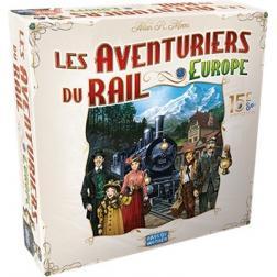 Les aventuriers du rail Europe : 15ème anniversaire