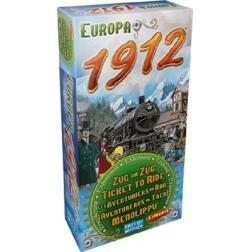 Les aventuriers du rail : extension Europe 1912
