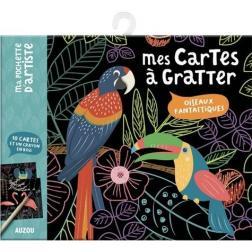 Mes cartes à gratter - Oiseaux Fantastiques