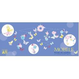 Mobile en papier : Ronde des papillons