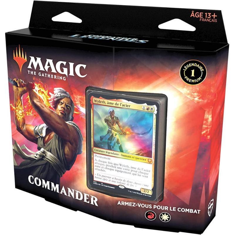 0MTG : Deck Commander Legendes Commander FR Wyleth