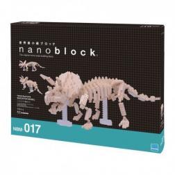 NanoBlock Triceratops Skeleton