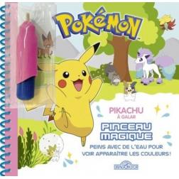 Pikachu à Galar - Pinceau magique