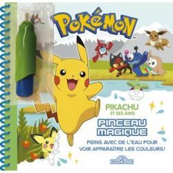 Pikachu et ses amis - Pinceau magique