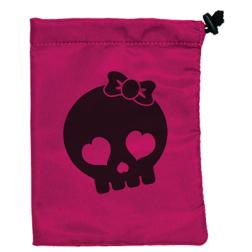 Pochon tissu : Skull girl
