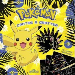 Pokémon - Cartes à gratter Pikachu