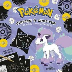 Pokémon - Cartes à gratter PONYTA DE GALAR (violet)