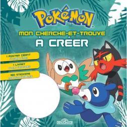 Pokémon - Cherche et trouve - pokémon - brindibou, flamiaou, otaquin