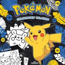Pokémon - coloriages velours