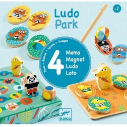 Premiers apprentissages : Ludopark 4 jeux