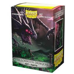 Protège-cartes Dragon Shield Matte: Halloween Dragon 2020