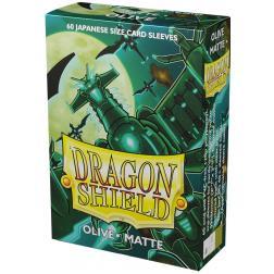 Protège-cartes Dragon Shield MATTE : Small Olive (60)