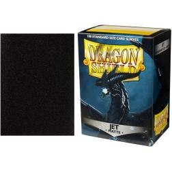 Protège-cartes Dragon Shield MATTE : STANDARD Jet (100 ct. in box)