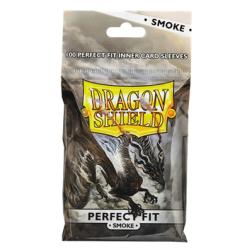 Protège-cartes Dragon Shield Perfect Fit Clear/Smoke 100ct. bag