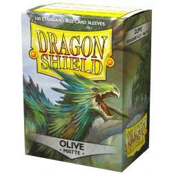 Protège-cartes Dragon Shield : Standard Lime (100 ct. in box)