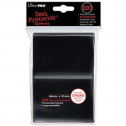 Protège-cartes Ultra Pro Standard 100 Noir