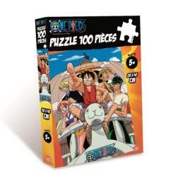 Puzzle 100 pièces One Pièce Vogue Merry