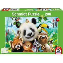 Puzzle 200 pièces : Nos amis les bêtes