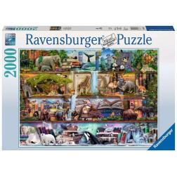 Puzzle - 2000p : Magnifique Monde Animal