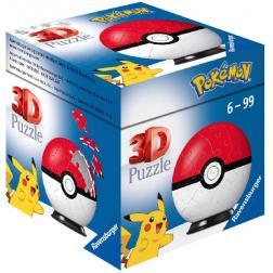 Puzzle 3D Pokémon Pokéball Classic 54 pièces