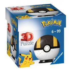 Puzzle 3D Pokémon Pokéball Hyperball 54 pièces