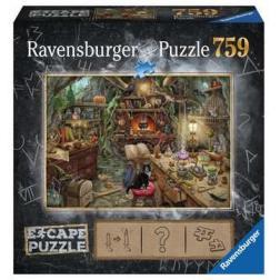 Puzzle 759 pièces Escape : Cuisine de sorcière