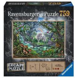 Puzzle 759 pièces : Escape Licorne