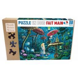 Puzzle bois : Alice au pays des merveilles