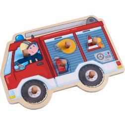 Puzzle Camion de pompiers 6 pièces