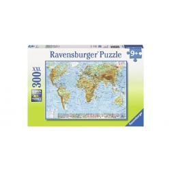 Puzzle Carte du monde politique 300 pièces XXL