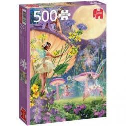 Puzzle Danse elfe au crépuscule 500 pièces